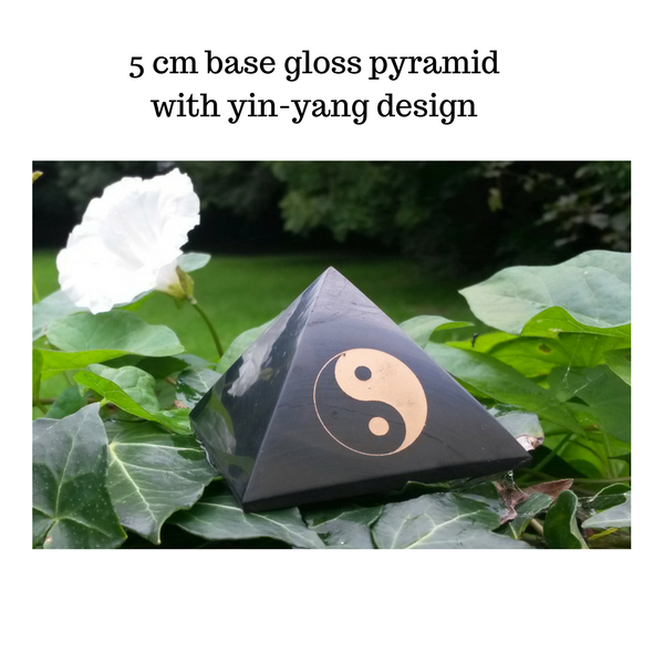 Golden Ratio Shungite Pyramid
